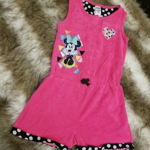 Disney swimsuit cover-up size 7/8